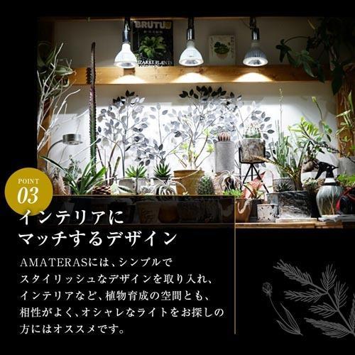 植物育成灯 アクアリウム テラリウム パルダリウム 太陽光LED 水草育成 観葉植物 BARREL AMATERAS(アマテラス) LED 20W BARREL leafs 12