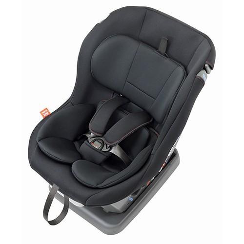 チャイルドシート 回転しなくても乗せおろし楽々 日本製 新生児-4歳頃 リーマン ネディアップ ブラックブラック leaman 06