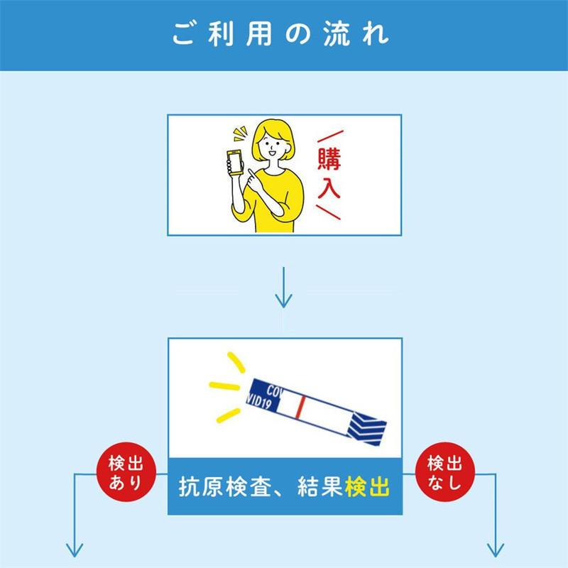 コロナ検査キット 研究用 日本製 送料無料 5個セット 抗原検査ペン型デバイス Toamit 抗原検査キット 唾液 PCR検査キット  精度99.4%以上 変異株対応 東亜産業|leathercity|08