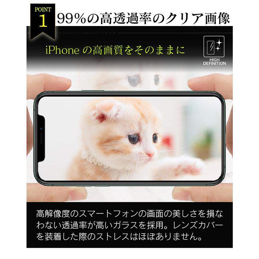 iPhone 12 12pro 12mini ガラスフィルム 保護フィルム レンズ用 カメラレンズ用 カメラ用 2枚 強化ガラス 12promax 11 11pro 11promax 全面 高透明 leathers 04