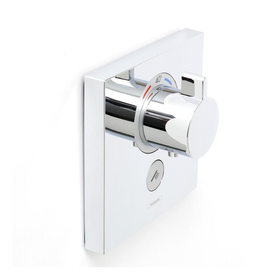 Hansgrohe ハンスグローエ SHOWERSELECT シャワーセレクト 埋込式ハイフローサーモスタット混合水栓 [15761000]|leben|05