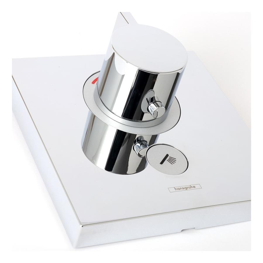 Hansgrohe ハンスグローエ SHOWERSELECT シャワーセレクト 埋込式ハイフローサーモスタット混合水栓 [15761000]|leben|06