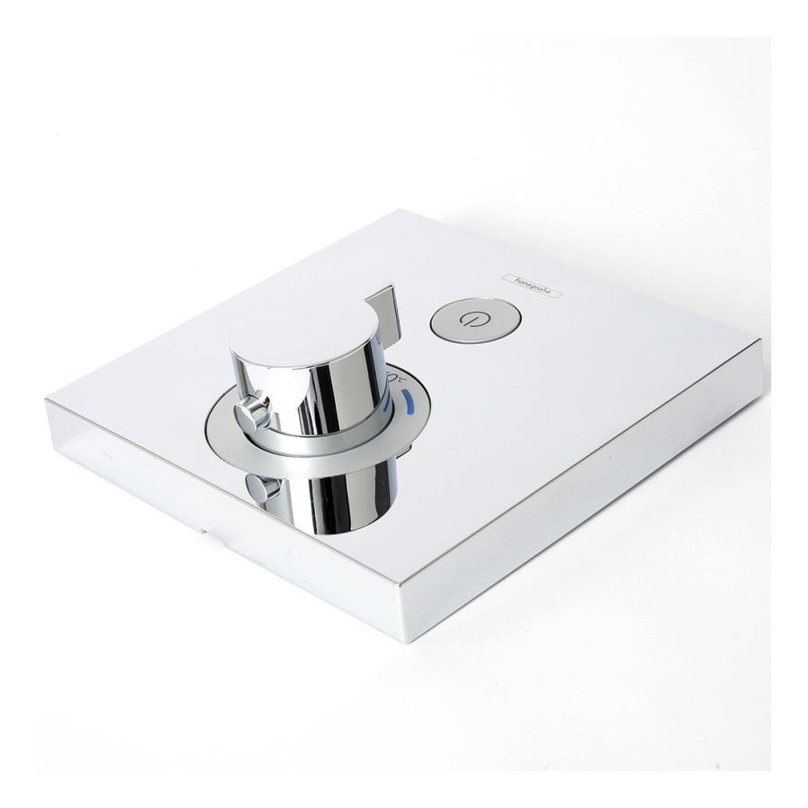 Hansgrohe ハンスグローエ SHOWERSELECT シャワーセレクト 埋込式サーモスタット混合水栓(化粧部)[15762000]|leben|05