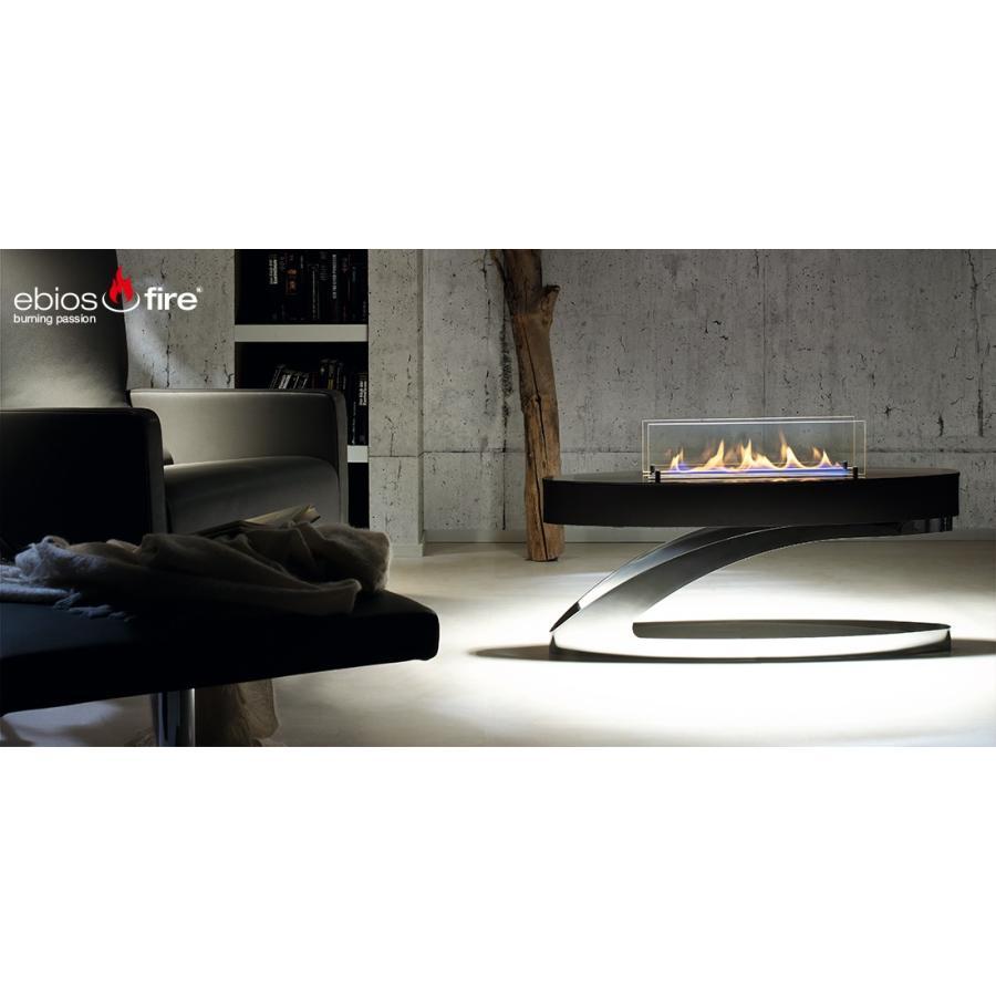 バイオエタノール暖炉 ebios fire(ドイツ) エビオスファイヤー ELIPSE Z エリプスZ|leben|05