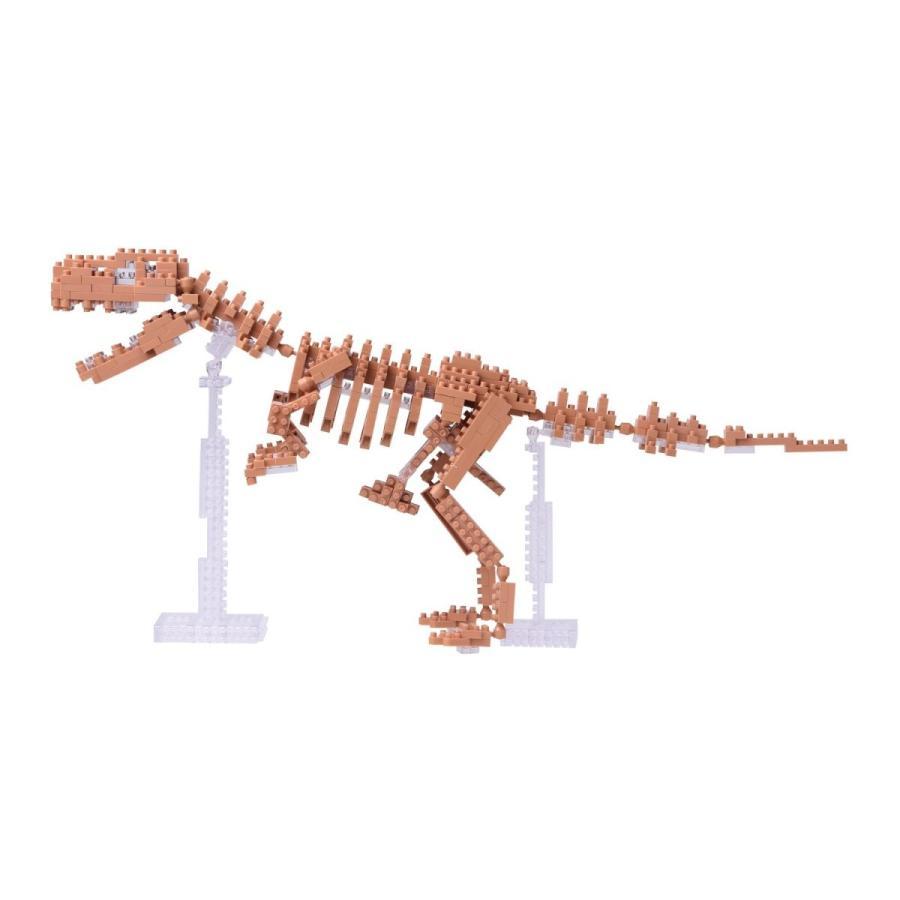 ナノブロック ティラノサウルス骨格モデル NBM-012|lechantilly|03