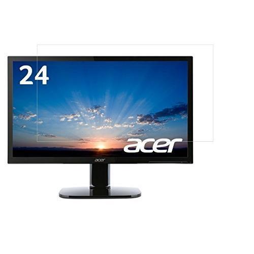 Acer モニター ディスプレイ KA240Hbmidx 24インチ対応液晶画面保護フィルム  目の保護 指紋防止 反射防ぎ 電磁波カット【540-0021-01】 lechantilly