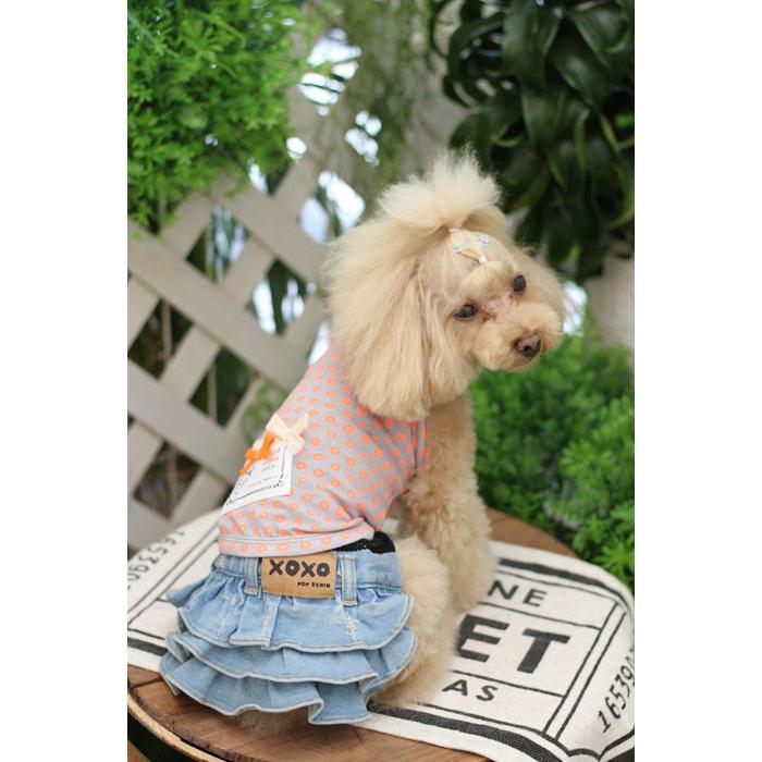 POPDOG 犬の服 Denim Skirt No.328 ポップドッグ デニムスカート|leciel-shop|05