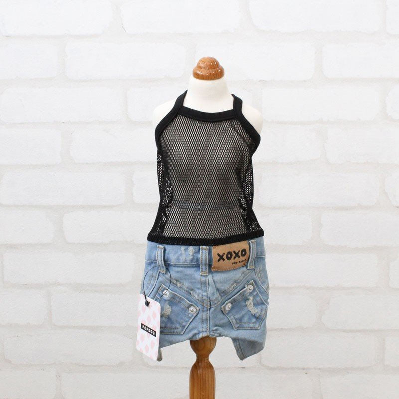 POPDOG 犬の服 Denim Pants No.328 ポップドッグ デニムパンツ|leciel-shop