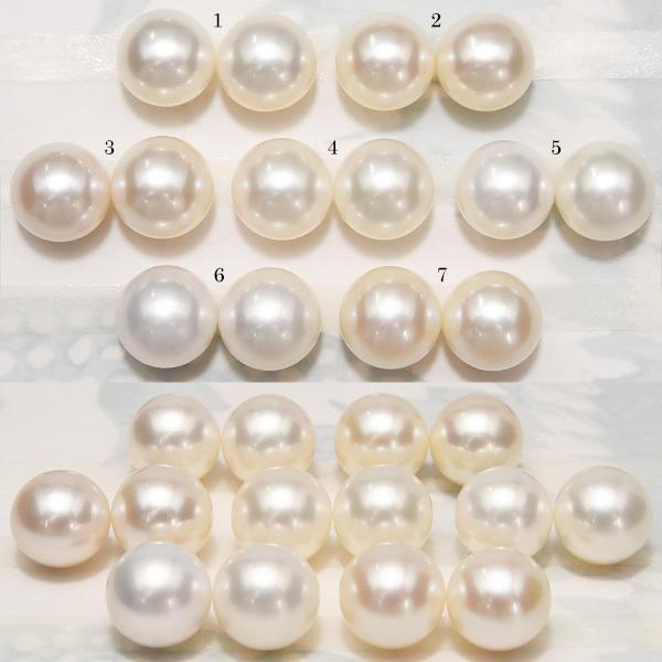 大玉10mmホワイト淡水真珠ピアス/イヤリング シャボン玉カラー浮かぶ大珠ラウンド!最高品質のパールをお楽しみください lecollier 07
