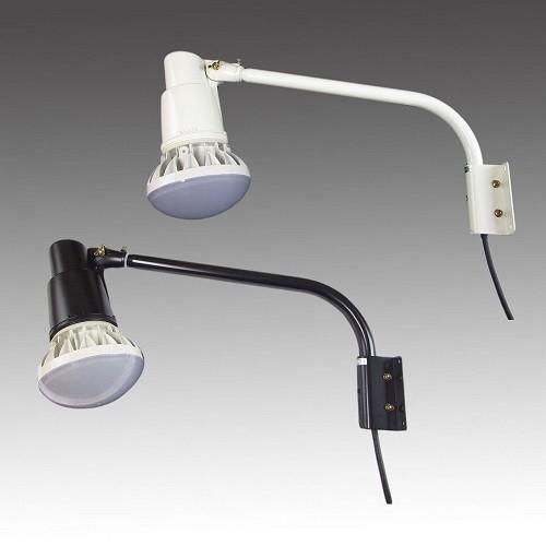屋外用LEDライト40W 口金E39 400W相当形 ショートアームセット(アーム長さ 465mm) 465mm) 店舗照明・看板照明