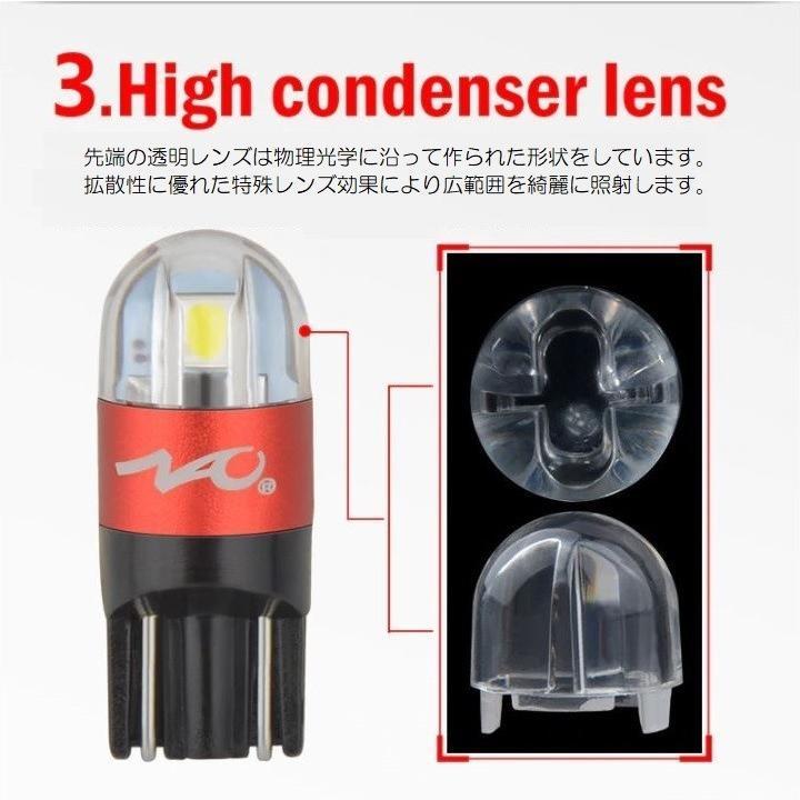 スバル XV LED ナンバー灯 ライセンスランプ GT3.7系 (H29.5-) 3030SMD 300LM 6000k ホワイト 車検対応|led-luce|05