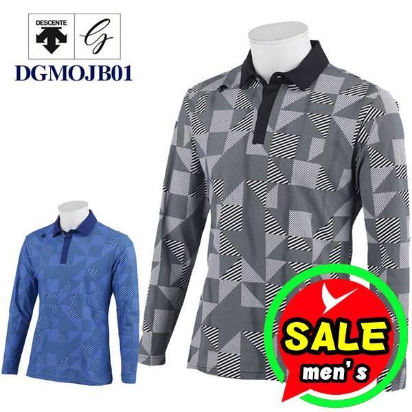 デサントゴルフ 長袖ポロシャツ DGMOJB01
