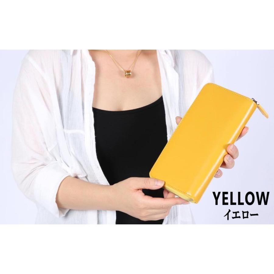 長財布 メンズ レディース 本革 コインスルー ギャルソン 財布 カード28枚収納 ガバッと開いて使いやすい BOX型小銭入れ レガーレ|legare-factory|13
