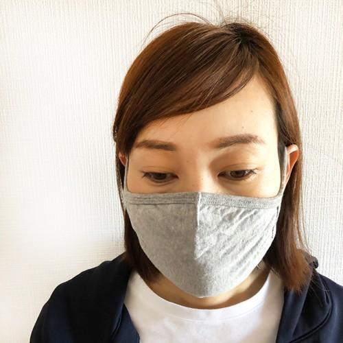 マスク 洗える 在庫あり 布 ふんわりニット生地 夏 3D 立体 綿 コットン 風邪 花粉 対策 個包装 子供 大人用 涼しい legicajeana 11