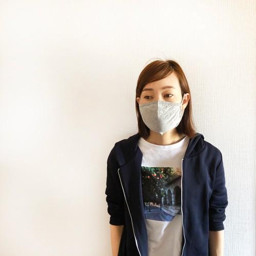マスク 洗える 在庫あり 布 ふんわりニット生地 夏 3D 立体 綿 コットン 風邪 花粉 対策 個包装 子供 大人用 涼しい legicajeana 12