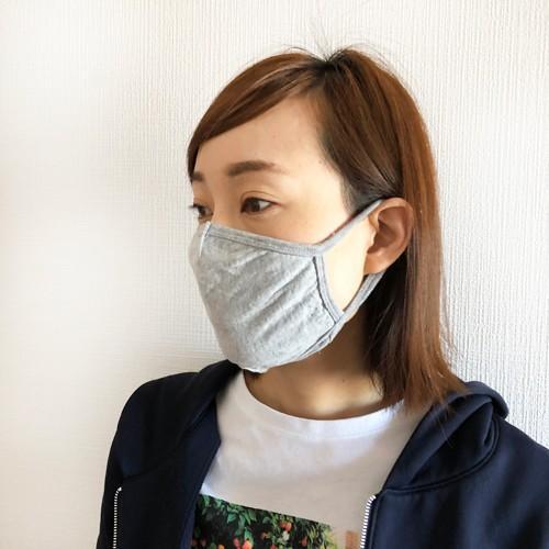 マスク 洗える 在庫あり 布 ふんわりニット生地 夏 3D 立体 綿 コットン 風邪 花粉 対策 個包装 子供 大人用 涼しい legicajeana 09