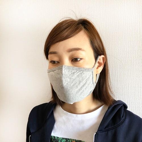 マスク 洗える 在庫あり 布 ふんわりニット生地 夏 3D 立体 綿 コットン 風邪 花粉 対策 個包装 子供 大人用 涼しい legicajeana 10
