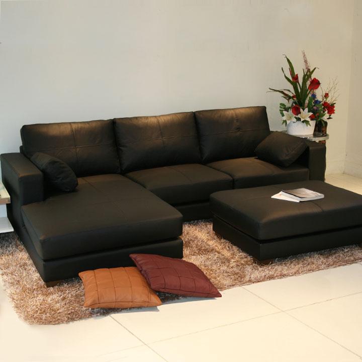 ソファ ソファー カウチソファ 3人掛け 2人掛け コーナーソファ l字 本革 高級イタリア製本革ソファ オットマン付 肘クッション付 938bp-2p-couch-ot
