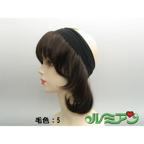 医療用◆バンドヘアー◆帽子やバンダナとご一緒に|lemienshop|02