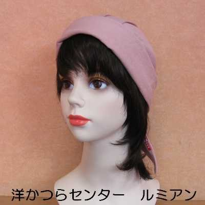 医療用◆バンドヘアー◆帽子やバンダナとご一緒に|lemienshop|04
