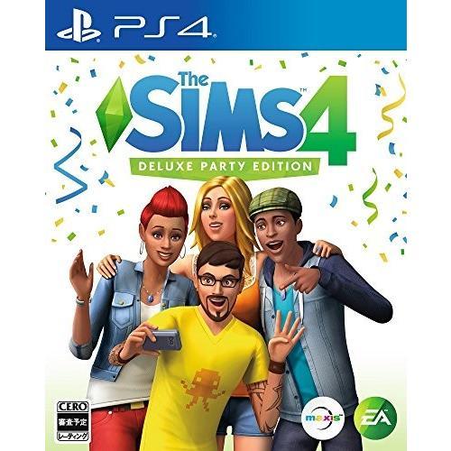 The Sims 4 Deluxe Party Edition 【限定版同梱物】・「ライフ・オブ・ザ・パーティ・パック」デジタルコンテンツ・「アップ・