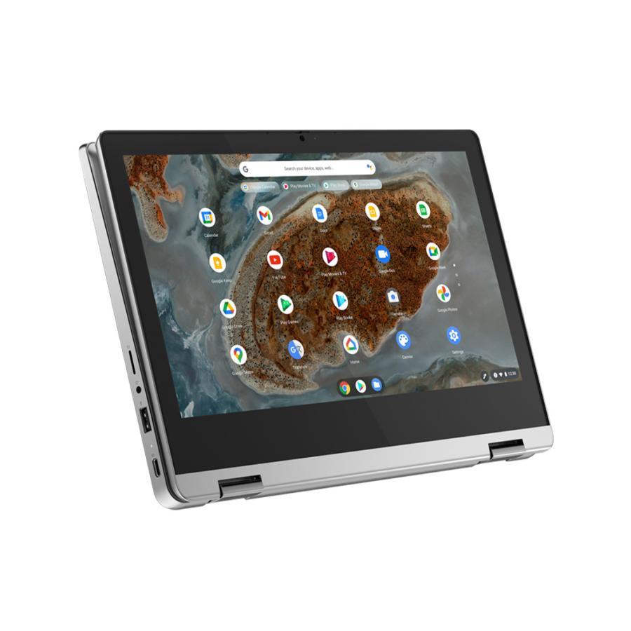 2020春夏新作 Lenovo ノートパソコン IdeaPad Flex 360 Chromebook:MediaTek MT8183搭載 11.6型 アークティックグレー マルチタッチ OS 4GBメモリー Chrome 64GB 日本正規品 eMMC HD