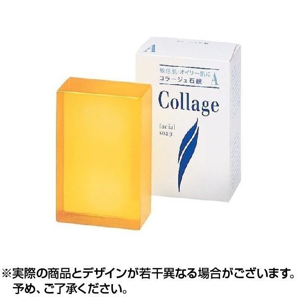 コラージュ A 脂性肌用石鹸 せっけん 100g 持田製薬 ×1個|lens-deli