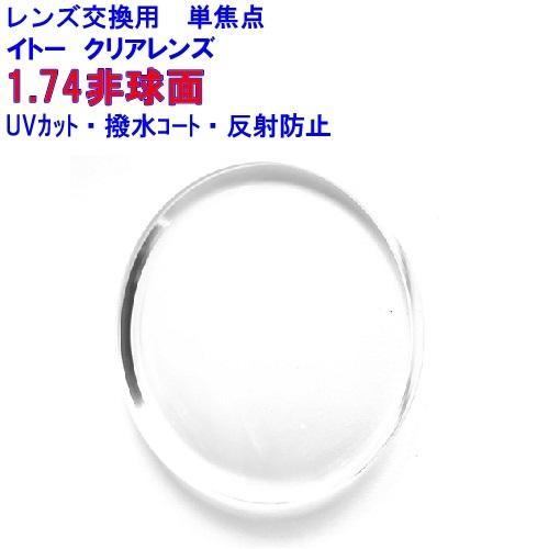 マキシマ174AS イトーレンズ 1.74非球面レンズ 他店購入フレームOK 海外限定 数量は多 レンズ交換用 メガネ