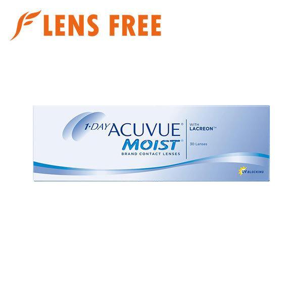 ワンデーアキュビューモイスト 30枚 1箱 ソフトコンタクトレンズ コンタクトレンズ 1DAY|lensfree
