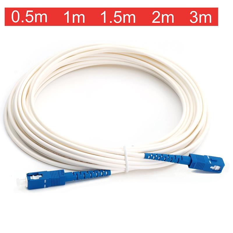 宅内光配線コード 光ファイバー ケーブル 信憑 光ケーブル線 メーカー在庫限り品 光配線延長 SC-SCコネクタ 3m 1m 0.5m 1.5m 2m