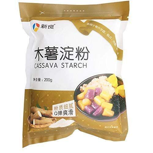 木薯淀粉 CASSVA STARCH 200g×2点 バーゲンセール キャッサバ粉 新色 新良