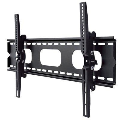 エース・オブ・パーツ テレビ壁掛け金具 37-65インチ対応 上下角度調節 ブラック PLB-117MB 【中型テレビ壁掛け】|leonkun-shop
