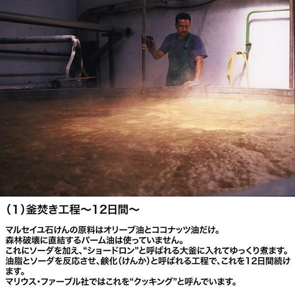 マルセイユ石鹸 本物 オリーブ マリウスファーブル 2.5Kg ビッグバー (木箱入り) パーム油不使用 送料無料 ポイント2倍|lepice|03
