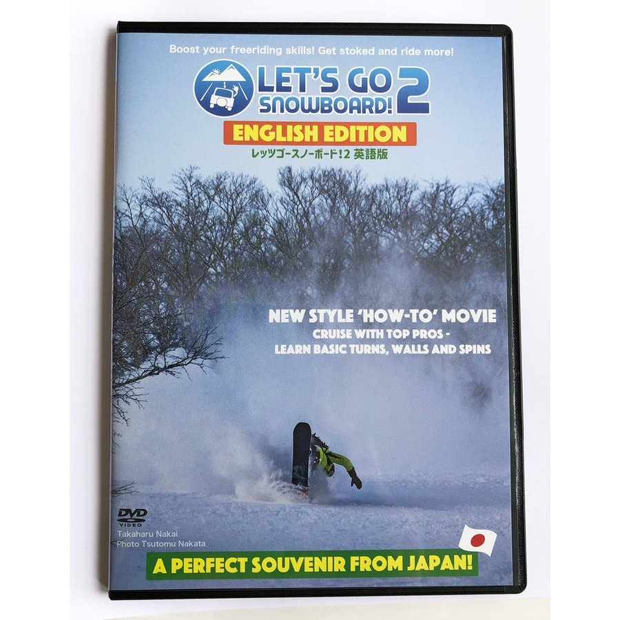 LET'S GO SNOWBOARD!2 ENGLISH EDITION letsgosnowboard 03