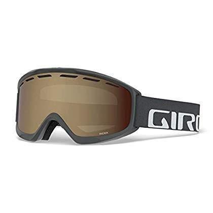 Giro Index OTG Snow Goggles Titanium Wordmark - Amber Rose