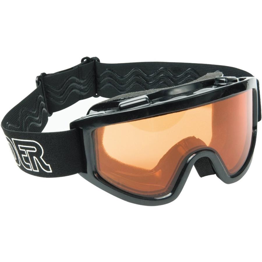 Raider 26-001-D Dual Lens Impact-Resistant Adult MX Off-Road Goggles,