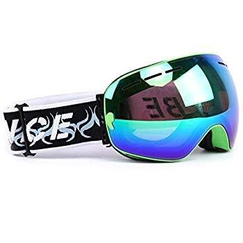 Ski Goggles,Mens Womens Snow Snowboard Snowboarding Goggles Double Len