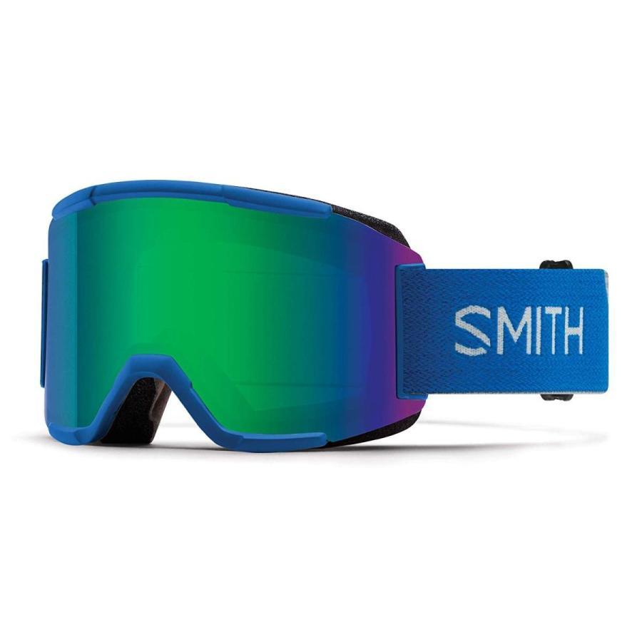 Smith Optics Squad Adult Snow Goggles - Imperial 青/緑 Sol-X Mirr