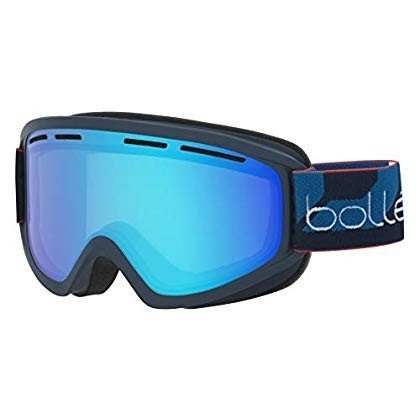 Bolle Schuss Light Vermillon 青, Matte Navy, Medium
