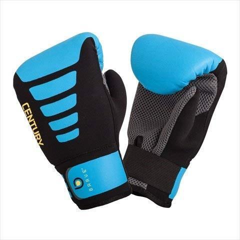 Century Brave Neoprene Bag Gloves, Black/Blue, Small/Medium