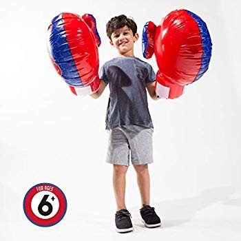 Franklin Sports Inflatable Boxing Gloves - Future Champs - Jumbo Infla