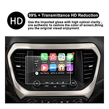 2017 2018 GMC Acadia Display Navigation Screen Protector, R RUIYA HD C