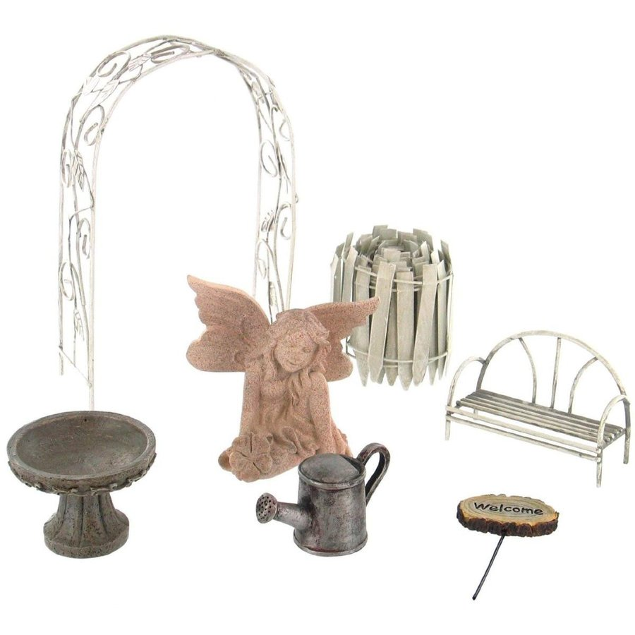 Echo Echo Echo Valley 6240 Fairy Garden Starter Accessory Kit 9d8