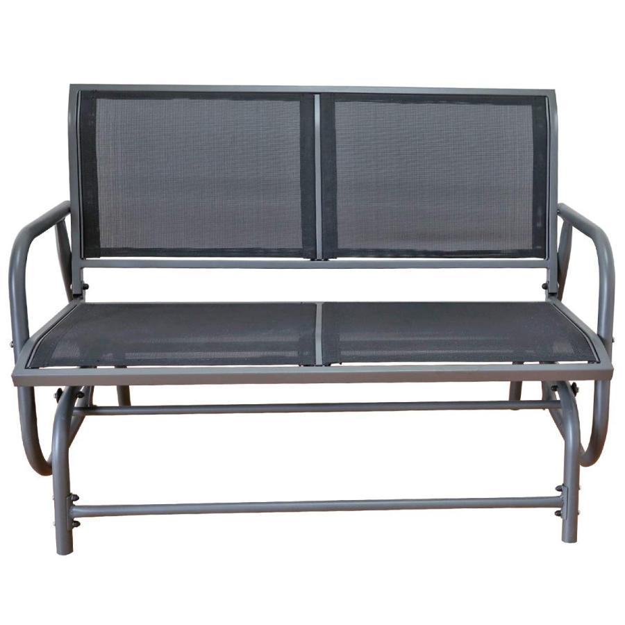 Yardeen Porch Swing Glider Chair Loveseat Rocking Bench Garden Seating