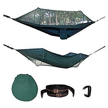 COASTA Outdoor Camping Hammock Mosquito Net Hammock Tent Portable Auto