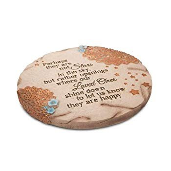 Pavilion Gift Company 19058 Light Your Way Memorial Garden Stone, 10-I