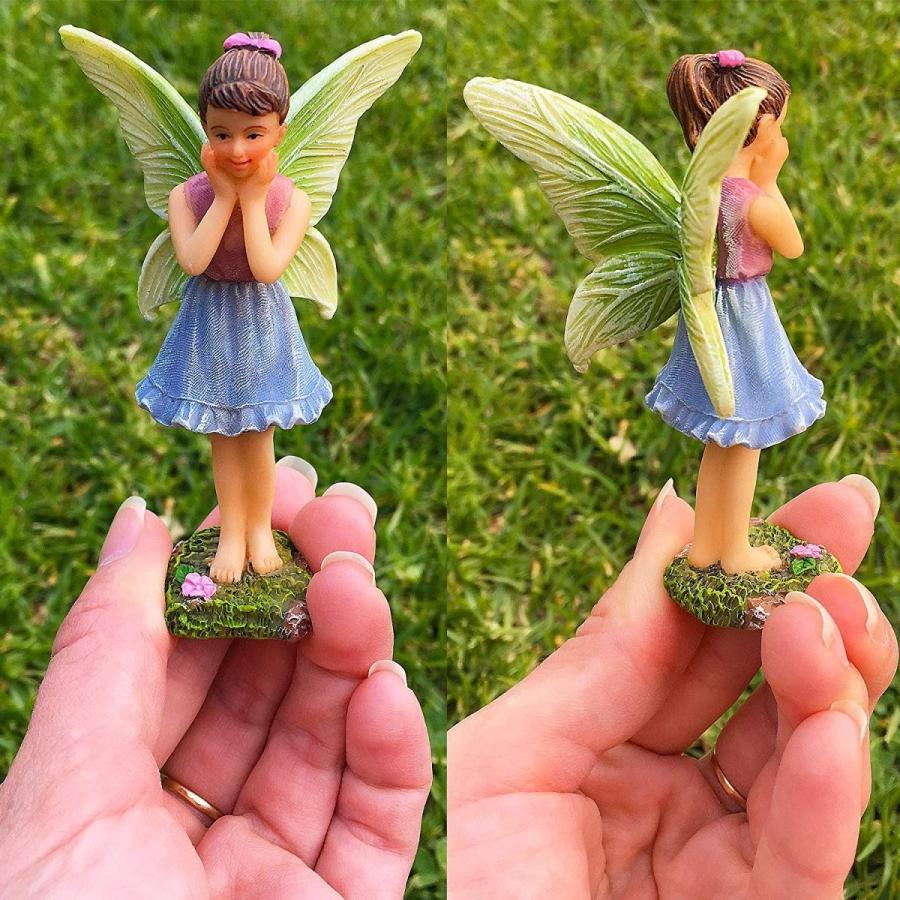 Mood Lab Fairy Garden - Miniature Accessories and Figurines Kit - Deer