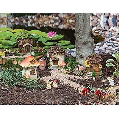 Ever緑 Garden New Creative Outdoor-Safe Mini Garden Polystone Fairy