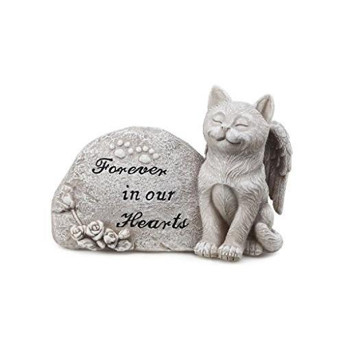 Napco Small Cat Memorial Memorial Memorial Stone 78a