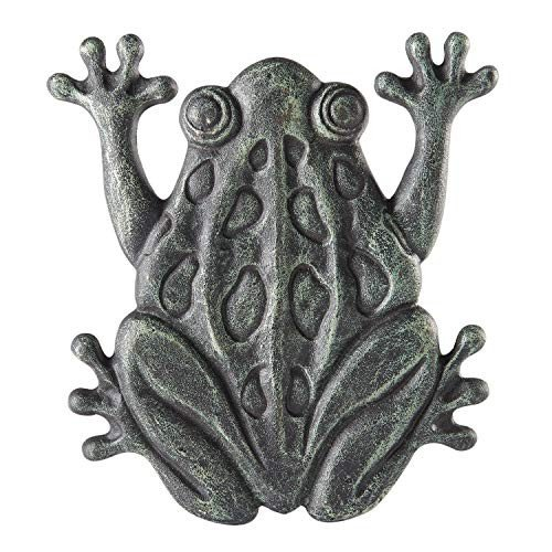 Upper Deck Cast Iron Frog Stepping Stone - Animal Garden and Yard Deco